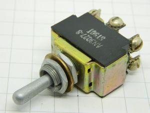Interruttore a levetta AN-3027-8 ST50T 3posizioni (una instabile) ON-OFF-ON  2vie