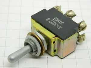 Toggle switch AN-3027-8 ST50T  ON-OFF-ON  (1 position momentary) 2way