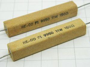 150ohm 11W resistenza a filo (n.2 pezzi)