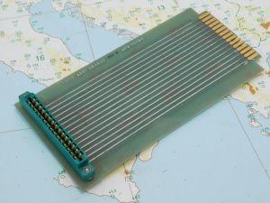 Scheda di espansione prolunga connettore 30pin passo 3,96  mm. 175x85