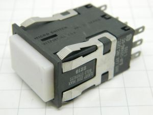 Pushbutton switch momentary Micro Switch AML-21 series L203  2SPDT