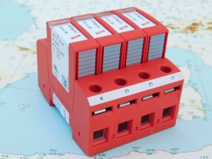 DEHNGUARD DG MU 3PY 480 4W+GR  No. 908346  scaricatore modulo di protezione pannelli solari, 4 posti