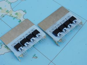 FDP 038A Mosfet 60V 80A N channel TO220 n. 6pcs. with heatsink  (n.2pcs.)