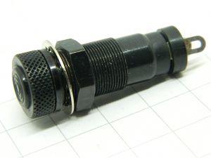 Panel fuse holder 5X20  MIL std.