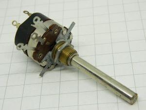 Potenziometro LESA 10Kohm logaritmico con interruttore 2W, vintage audio