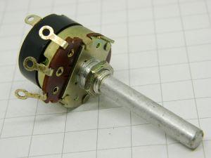 Potenziometro 200Kohm logaritmico con interruttore , vintage audio