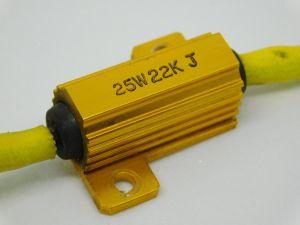 22Kohm 25W 5% resistor