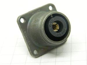 Connettore MS3102R-14-3S (C)  1pin  femmina da pannello
