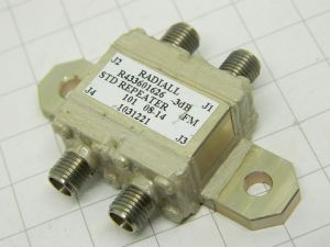 RADIALL R 433601626 Coaxial coupler divider 3db SMA connector