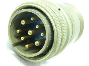 Connector MS3106A24-11P  plug male 9pin