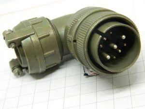Connector MS3108E20-18P  plug male 90° 9pin