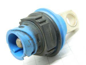 Connector PBT GF30  socket male  1pin