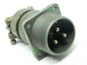 Connector MS3100A 22-2P  socket male 3pin