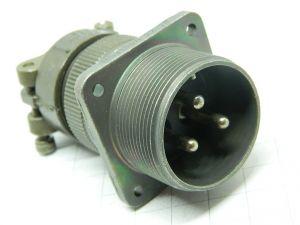 Connettore MS3100A 22-2P  maschio da pannello 3pin