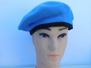 Military hat blu