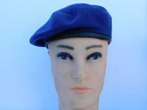 Military hat dark blu