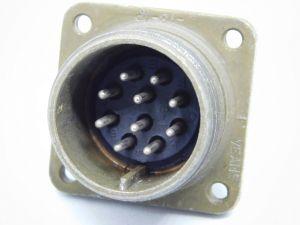 Connettore MS3102A 18-1P maschio da pannello 10pin