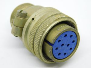Connector MS3106B 18-1S  plug  female 10pin
