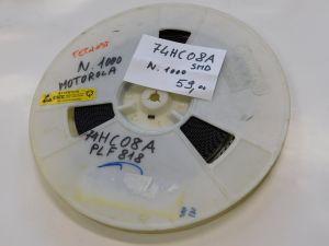 74HC08A Motorola c.i. SMD  (n.1000pcs.)