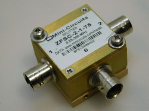 Mini-Circuits Splitter ZFSC-2-1-75  0,25/300MHz  75ohm