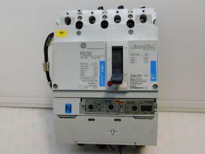 Automatic circuit breaker GE FE250 Record Plus 250A  4pole