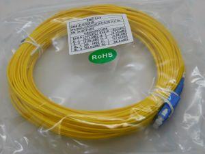 Patch cord Fibra ottica LC/UPC-SC/UPC SM 9/125 duplex  m.20  gialla
