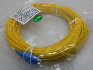 Patch cord Fibra ottica LC/UPC-SC/UPC SM 9/125 duplex  mt.25  gialla