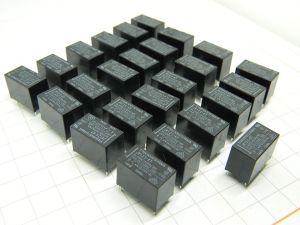 Relay TAKAMISAWA JV12S KT  coil 12Vdc  1contact N.O.   5A 30Vdc/250Vac (n.25pcs.)