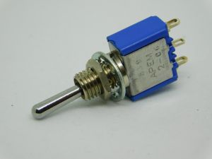 Toggle switch ON-OFF-ON 3pos. 1SPDT APEM 5639