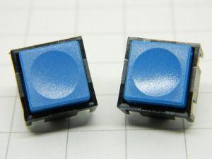 Pulsante TRW 320069 blu 1conatto n.o. da circuito stampato (n.2 pezzi)