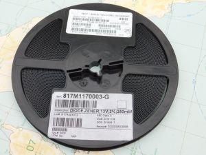 BZX84-B13  zener  13V 2% 250mW  SOT23 smd  (n.3000pcs.)