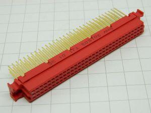 Connettore DIN41612  96pin femmina contatti placcati oro norme MIL
