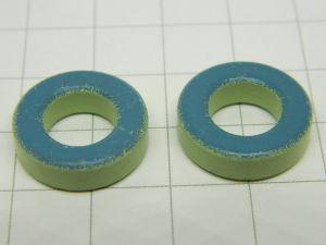 Nucleo toroidale in ferrite mm. 17,5x5x9   MICROMETALS T68-52  (n.2 pezzi)