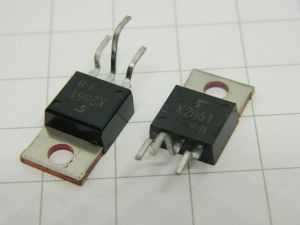 2SK2661 mosfet TOSHIBA 500V 5A  TO220  (n.2 pezzi)