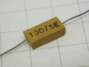130pF 500V condensatore MICA/Ag  MIAL  vintage