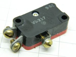 Micro Switch Honeywell V3-217 , 115/250V 10A