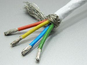 Shielded cable 4xAWG12 PTFE teflon