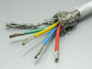 Shielded cable 4xAWG16 PTFE teflon  nos.