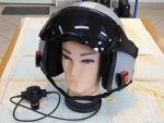 CEOTRONICS NOISE PROTECTION HELMET G3 casco  JET Luftwaffe  con sistema di comunicazione