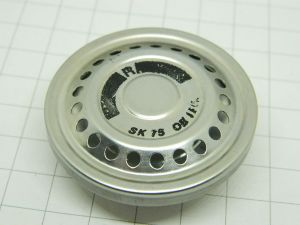 Capsula telefonica trasmittente a carbone 200 ohm mm.48x20  telefono vintage