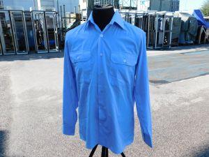 Camicia militare Tedesca azzurra originale