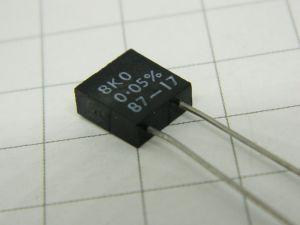 8Kohm 0,05%  0.5W  Welwyn 4802  resistenza di precisione