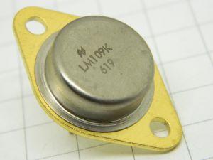 LM109K  voltage regulator 5V  TO3