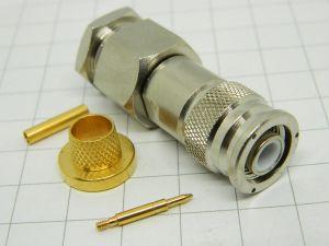 OMNI SPECTRA  3101-7214-10  TNC cable plug