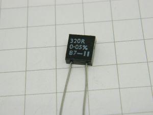 320ohm 0,05%  0,5W  Welwyn 4802 resistenza di precisione