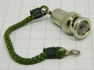 Amphenol 4700-51 coaxial terminator BNC  51ohm 0,5W with chain