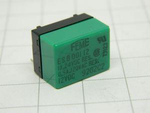 Relay FEME ES B 001 12  12Vdc  coil 1spdt