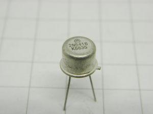 2N5416  transistor Motorola  TO5