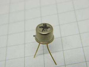 MM4003 transistor Motorola  TO5  gold