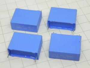 3,3MF 100V capacitor Philips 344 MKT HQ  cross over  (n.4pcs.)